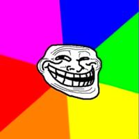 Троллфейс (troll face) шаблон мемгенератора