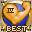 Украшенная золотая медаль «Однорукий бандит» - награда за 15 постов с рейтингом 11.0 (или выше). Эту медаль можно также получить за один пост с рейтингом 25.0 (или выше). Посты должны быть в секретных разделах.