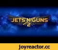 Jets'n'Guns 2 Early Access Trailer,Gaming,Jets'n'Guns,action,arcade,game,shmup,side-scrolling,A new Jets'n'Guns 2 trailer for Steam - with more gameplay and more Machinae Supremacy music! Visit the game's page: http://bit.ly/jng2_steam Rake in Grass on Steam: http://bit.ly/rig_on_steam  #shmup